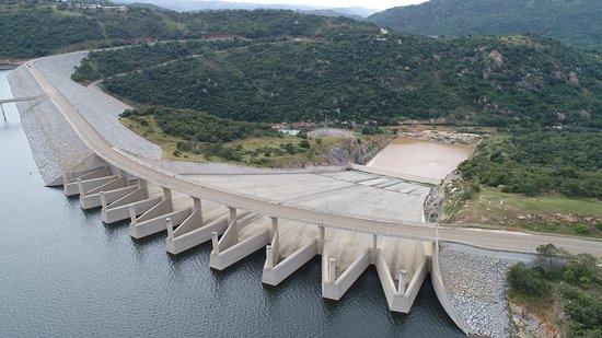 Piggs Peak, Swaziland: Maguga dam