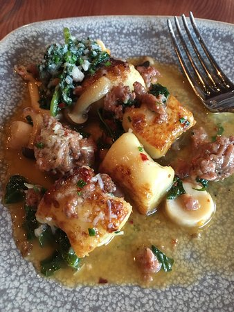 Larkspur, CA: the Gnocchi I continue to rave about...