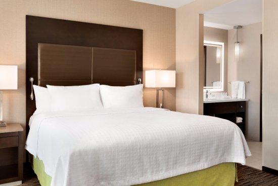 Homewood Suites King Bedroom Bed John Wayne Airport Irvine California Picture Of Homewood