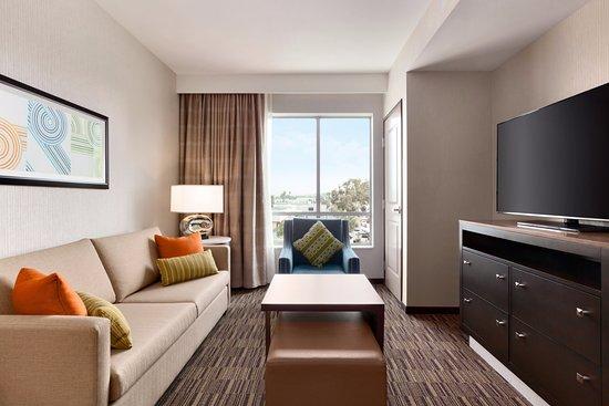 Homewood Suites King Bedroom Living Room John Wayne Airport Irvine California Picture Of