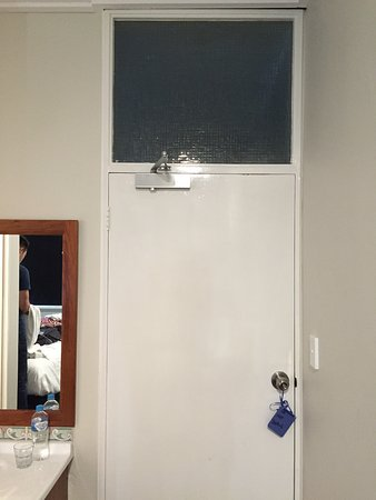 Glass Pane Above The Door Of Room No 2 Picture Of Gunyah Hotel