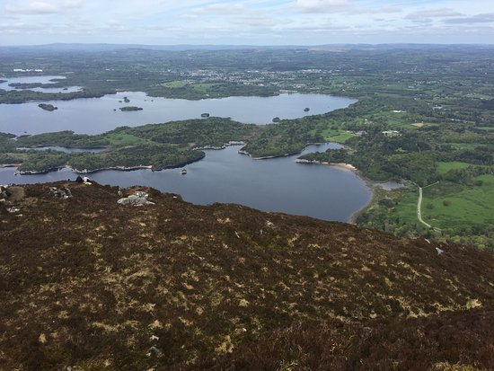 Torc Mountain Walk: View at top