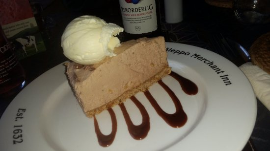 Caersws, UK: Toblerone Cheesecake