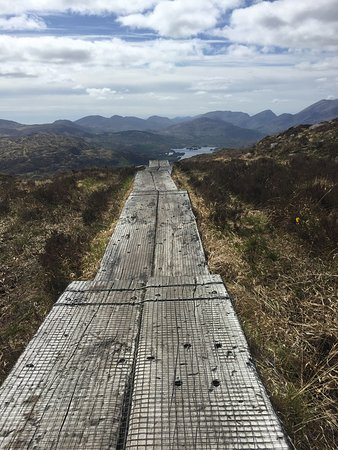 Torc Mountain Walk: Boardwalk