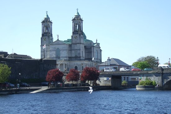 St. Peter & Pauls Church Athlone from the water