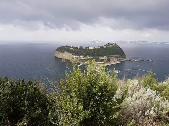 Panorama dal parco Virgiliano