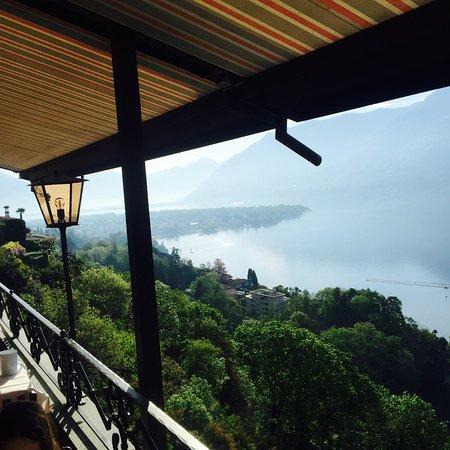 Schoner Blick Uber Den Lago Maggiore Picture Of Hotel Casa Berno