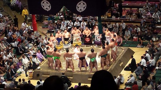 Photo of Tourist Attraction Ryogoku Kokugikan at 横網1-3-28, Sumida 130-0015, Japan