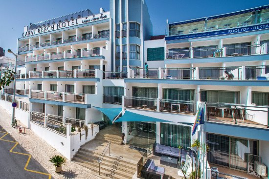 Carvi Beach Hotel Algarve Photo
