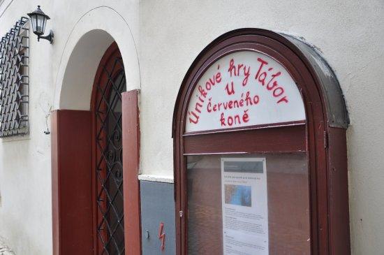 Tabor, Tschechien: Najdete nás v historickém centru pod táborskou radnicí