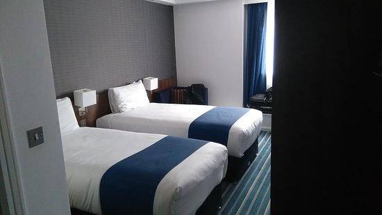 Holiday Inn Express Belfast City Queens Quarter: Chambre double (2 lits simples)