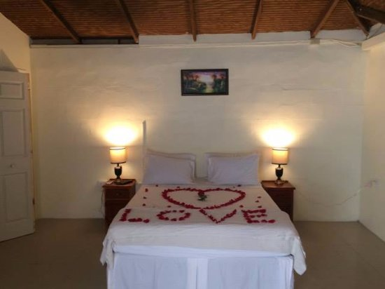Maraval, Trinidad: Special request by guests for their anniversary