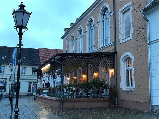 Lindow, Germany: Restaurant von außen