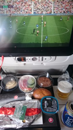Lunch service with live Premier League football - Picture of
