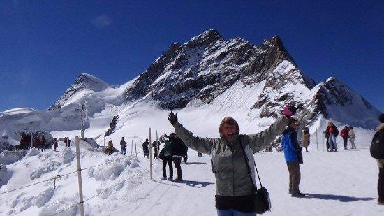 Hotel Eiger: Jungfraujoch, over 12,000 feet