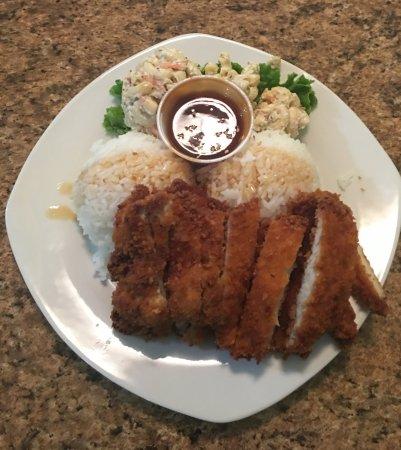 Ephrata, WA: Chicken Katsu Plate