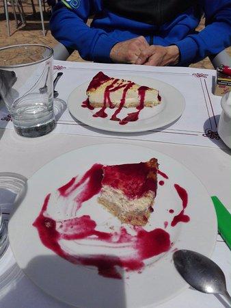 Cantina de Guadalupe: Tarta de queso casera super rica