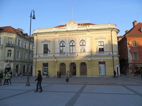 Hotel Emonec: Philharmonic Hall built in 1701