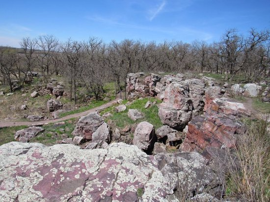 Pipestone, MN: The quarry area