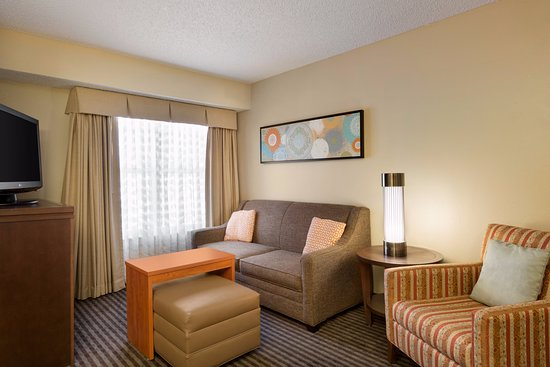 Homewood Suites by Hilton Houston - Westchase: Homewood Suites Houston Westchase, King Liviing Room