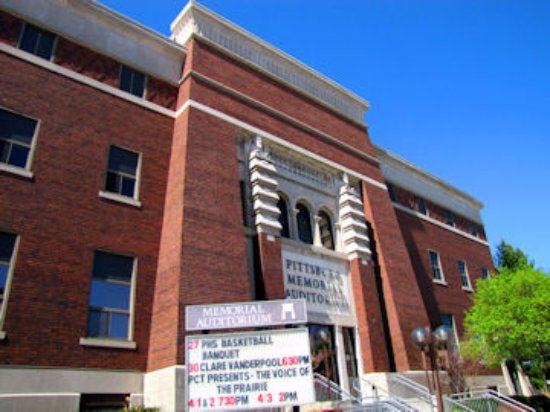 Pittsburg, KS: Memorial Auditorium