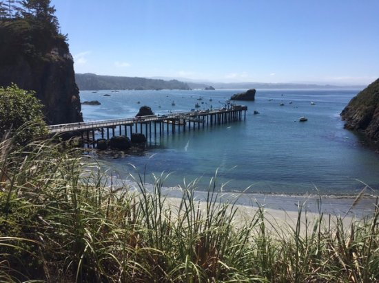 Hotel Arcata : Trinidad, a short drive north of Arcata is a small village with restaurants, and a secluded beac