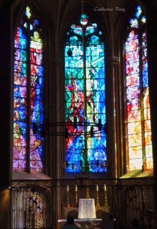 Vitraux Metz vitraux chagall - picture of metz cathedral, metz - tripadvisor