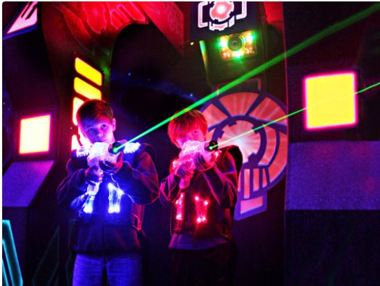 Sterling, VA: Adults and Kids both love laser tag at Ultrazone Loudoun, formally panther family fun