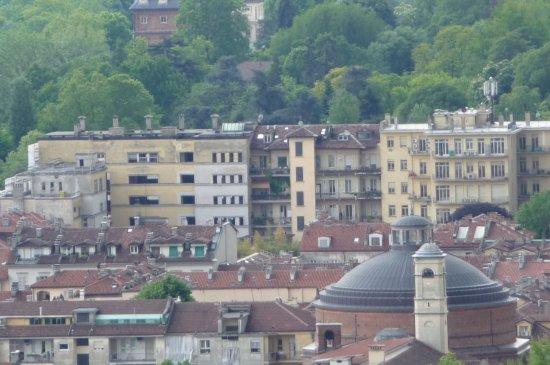 All'Orso Poeta : Achterkant gebouw gezien van Mole Antonelliana