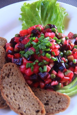 Vinaigrette Is A Salad In Russian Cuisine Which Is Also Popular In