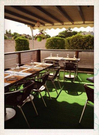 La Loupe, ฝรั่งเศส: terrasse