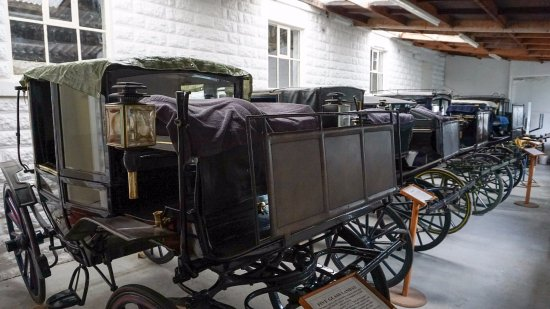 Matlock, UK: The front carriage was used in BBC P&P when Lizzie is travelling with her Aunt and Uncle Gardner