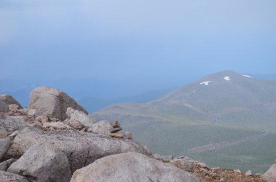 Mount Evans Scenic Byway: The views from the top of Mount Evans