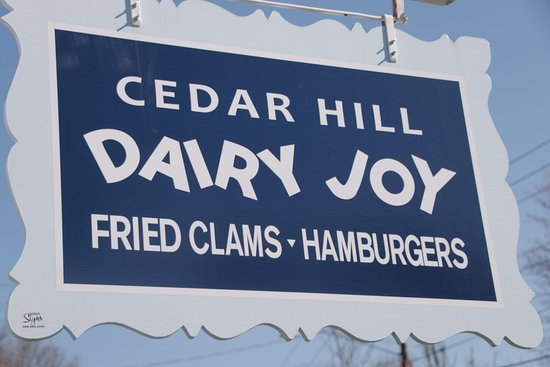 Weston, MA: Cedar Hill Dairy Joy