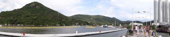 Molhe - Barra Sul: Vista 180°