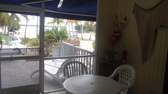 Kon-Tiki Resort: Loved the screened in porch