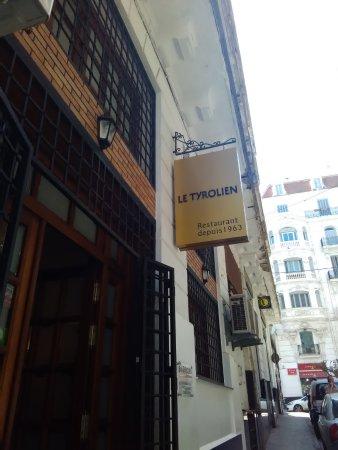 Restaurant Le Tyrolien: Novo reclame