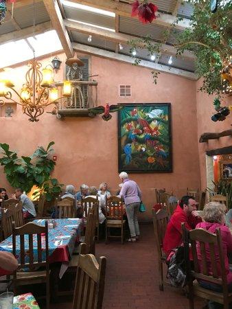 Mesilla, NM: Indoor Patio Dining