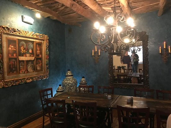 Mesilla, Nuevo Mexico: Private Dining Area