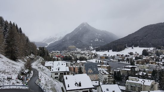 Davos Youth Hostel: Fantastic views