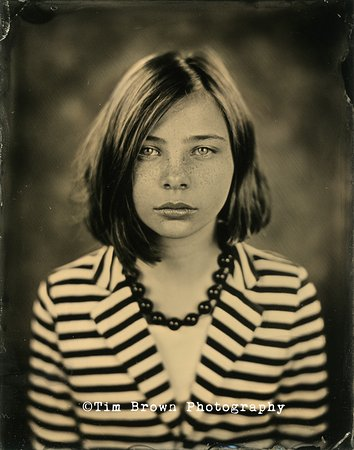 Salida, Kolorado: Tintype portrait taken in our Studio