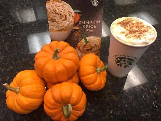Hunt Valley, MD: Special coffee in fall