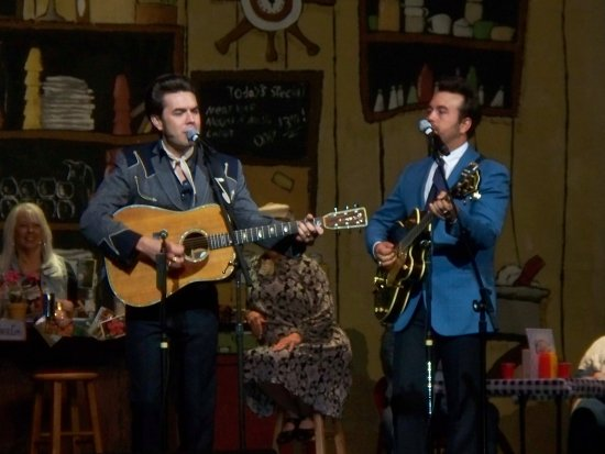 Malpass Brothers On Stage Picture Of Starlite Theatre