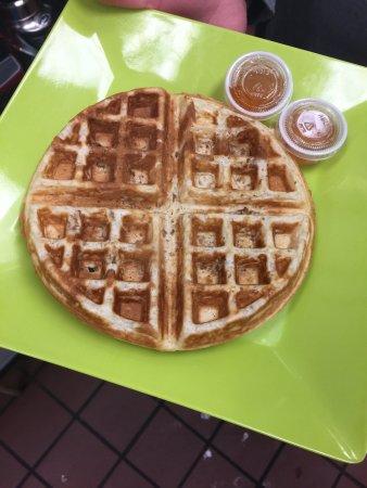 Cleveland Heights, OH: Baklava Waffle