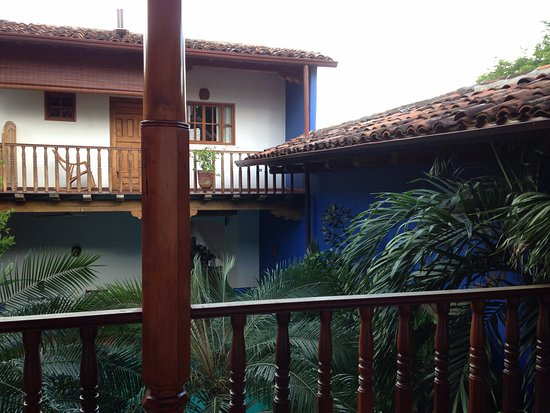 Miss Margrit's Guest House: View from room balcony of hotel spaces