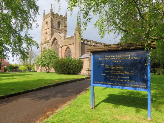 Leominster, UK: The Priory Church of St Peter & St Paul - (01/May/17).
