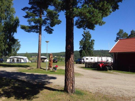 Ljusdal, Sverige: camping