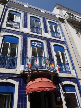 Hotel Anjo Azul: Façade de l'hôtel