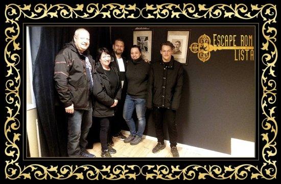 Farsund, Νορβηγία: Escape Room Lista