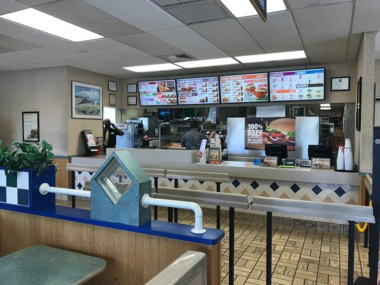 Empty Order Counter Picture Of Burger King Pennington